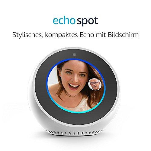 Amazon Echo Spot – Weiß - 2