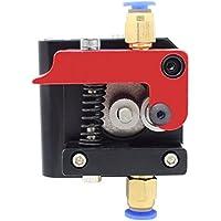 MK8 Remote Bowden Extrusora Accesorios 1.75mm filamento Todo Metal Remote Extrusora Bloque de Estructura para Reprap Impresora 3D Kossel Prusa【Mano izquierda】