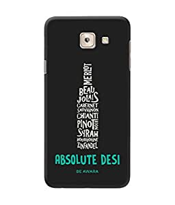 Be Awara Absolute Desi Printed Back Case Cover for Samsung Galaxy On Max