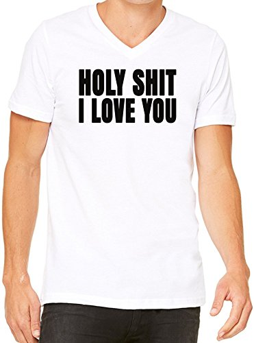 holy-shit-i-love-you-slogan-mens-v-neck-t-shirt-small