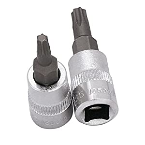 Kraftwerk-105025 douilles embout TX 1/T25 avec insertion 4