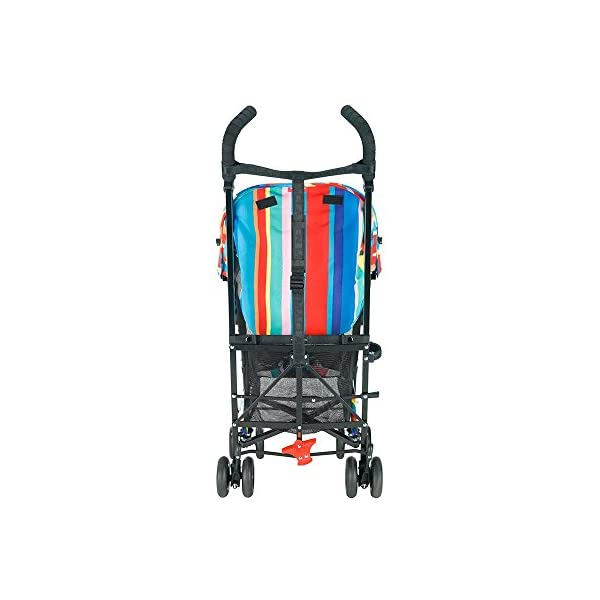 Maclaren Dylan's Candy Bar Volo Stroller - super lightweight, compact Maclaren Basic weight of 3.3kg/7.2lb; ideal for children 6 months and up to 25kg/55lb Maclaren is the only brand to offer a sovereign lifetime warranty Extendable upf 50+ sun canopy and built-in sun visor 8