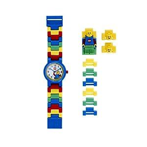 LEGO Classic 8020189 Orologio da polso componibile per bambini con cinturino a maglie e minifigure 0830659005732 LEGO