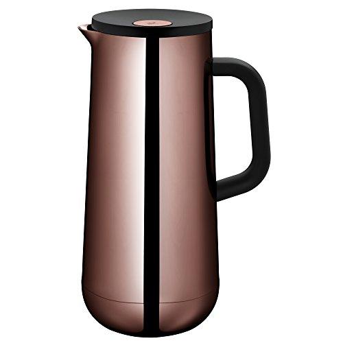 WMF Isolierkanne Thermoskanne Impulse Vintage Kupfer, 1,0 l, für Kaffee oder Tee Druckverschluss...