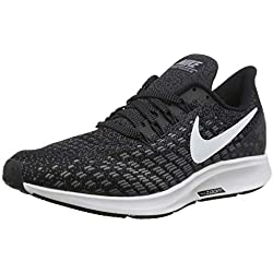 Nike Air Zoom Pegasus 35, Chaussures de Running Homme, Noir (Black/White-Gunsmoke-Oil Grey 001), 43 EU