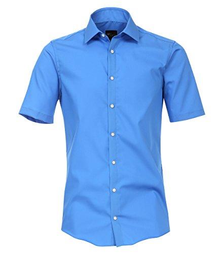 Venti Herren Businesshemd 001620 Blau 112, 37 (Herstellergröße: S) -