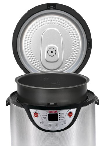 Tefal RK302E15 8-in-1 Multi Cooker, Stainless Steel