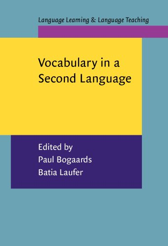 Vocabulary in a Second Language: Selection, acquisition, and testing (Language Learning & Language Teaching)