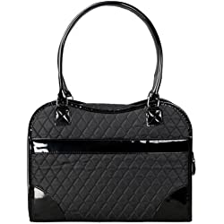 Exquisite' Handbag Fashion Pet Carrier, One Size, Black