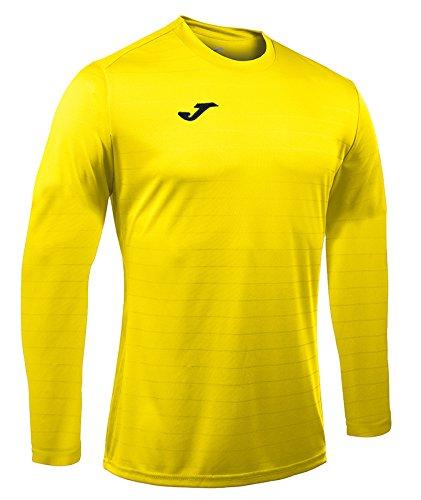 Joma campus iI t-shirt de jeu manches longues, homme yellow