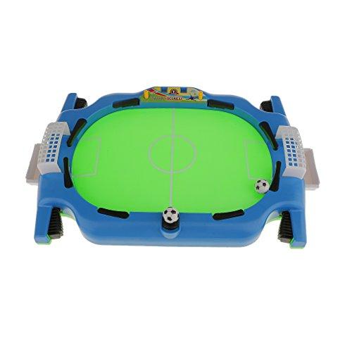 Mini Table Top Kicker FootBall Game Set Kids Family Desktop Portable 36cm  available at amazon for Rs.1080