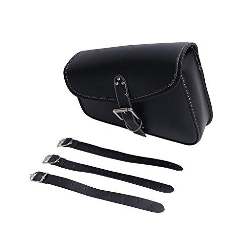 Preisvergleich Produktbild wanoos Motorrad Seite Tasche Kunstleder Gepäck-Set Satteltasche für Harley Sportster XL 883XL 1200