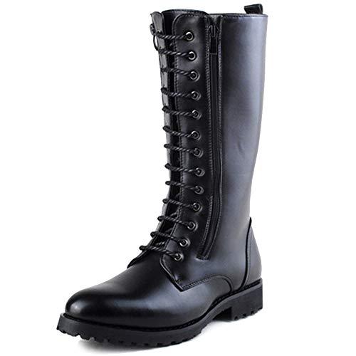 SHANLY Armee Tactical Boot Herren Doppelreißverschluss High Top -