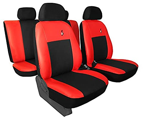 Für DACIA Logan II MCV ab 2012 Sitzbezüge in ECO-Leder