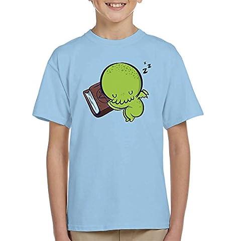 Baby Cthulhu Sleeping Kid's T-Shirt