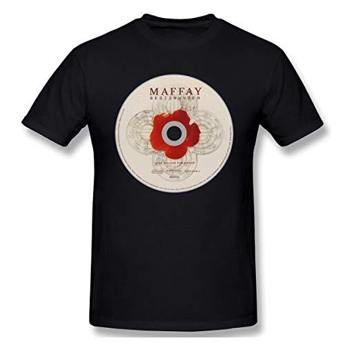 Edwardjack Herrens Peter Maffay Mode Black T-Shirts XL Mit Herren-Kurzarm