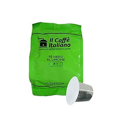 50 Capsules compatibles thé Nespresso - Nespresso 50 x Dosettes / Capsules de thé Nespresso® Thé noir au citron - 50 capsules compatibles Nespresso - Il Caffè Italiano