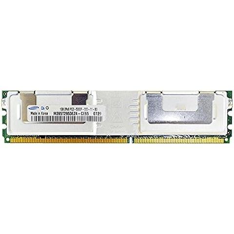 DDR2 Samsung 1GB 667MHz PC2-5300 - M395T2953EZ4-CE65 ECC Fully (Samsung Buffered Memoria)