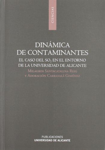 Descargar Libro Dinámica De Contaminantes de Milagros Santacatalina Reig