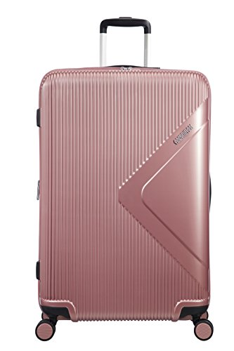 American Tourister Modern Dream Spinner Espandibile Valigia, 77.5 cm, 114 L, Rosa (Rose Gold)
