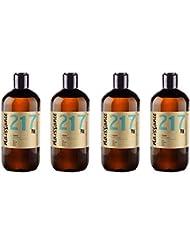 Naissance Huile de Ricin (n° 217) Pressée à froid - 2 litres (4 x 500ml) – 100% pure, végan, sans hexane, sans OGM