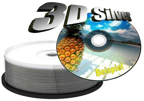MediaRange MR4164.7GB DVD + R DVD-Rohling DVD + RW Rohlinge (DVD + R, Silber, Tortenschachtel)