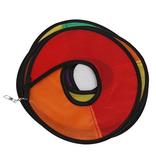 41ShIo5%2BSSL. SS500  - Nylon Spiral Rainbow Wind Spinner Tent Garden Decoration Colorful