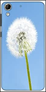 Snoogg Dandelion In The Wind Designer Protective Back Case Cover For HTC Desire 728