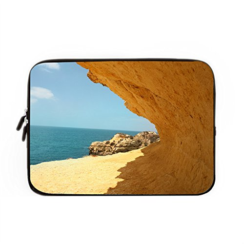 chadme-laptop-sleeve-borsa-da-spiaggia-sole-cliff-sea-sand-notebook-sleeve-casi-con-cerniera-per-mac