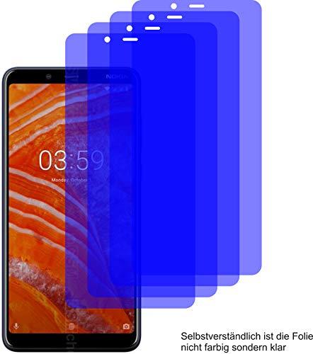 4X ANTIREFLEX matt Schutzfolie für Nokia 3.1 Plus Bildschirmschutzfolie Displayschutzfolie Schutzhülle Bildschirmschutz Bildschirmfolie Folie