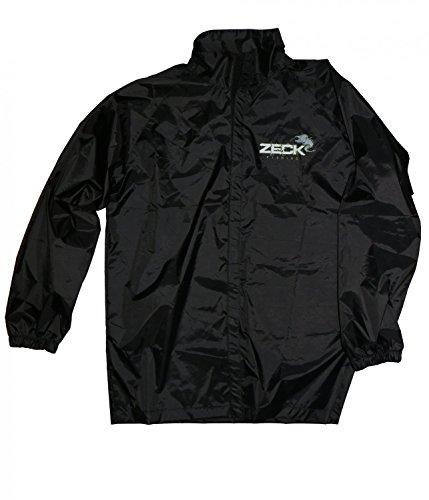 Zeck Fishing Slime Jacket Schleimjacke, Angeljacke, Regenjacke, Anglerjacke, Wasserdichte Jacke, Gr. L oder Gr. XXL, Größe:XXL