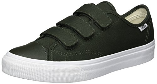 Vans Ua Style 23 V, Baskets Basses Homme Vert (Canvas)