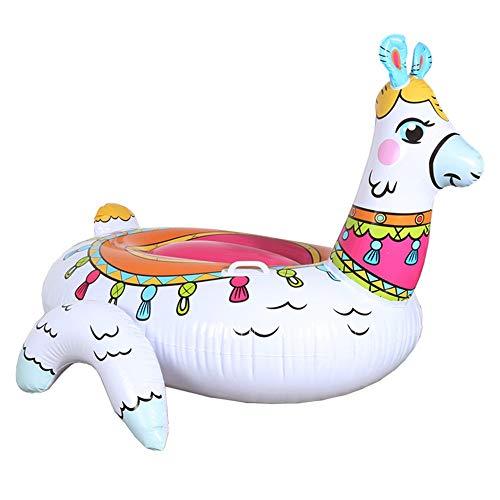 Alpaka Aufblasbaren Pool Schwimmende Reihe, Reiten Luftmatratze Schwimmring Erwachsene Kinder Wasser Party Spielzeug ()