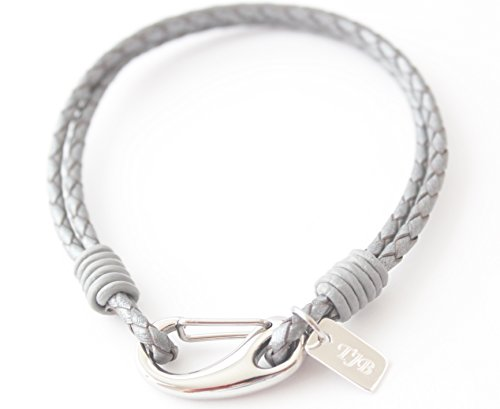 zurich-mens-grey-leather-bracelet-with-sterling-silver-tag-any-engraving-free