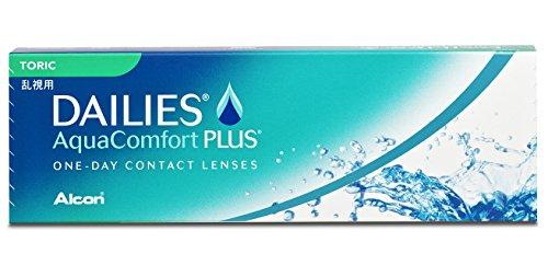 Dailies AquaComfort Plus Toric Tageslinsen 30 Stück / BC 8.8 mm / DIA 14.4 / CYL -1.25 / ACHSE 90 / -4.75 Dioptrien