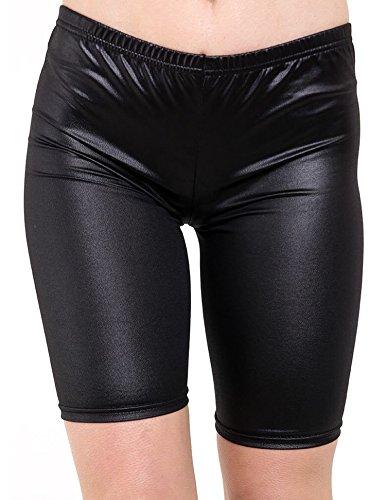 Fast Fashion - Imprimé Élastique Gym Cyclisme Short - Femmes Regard Humide