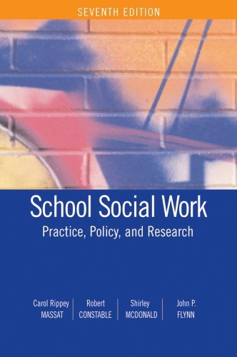 School Social Work: Practice, Policy, and Research by Carol Rippey Massat (2008-07-15)