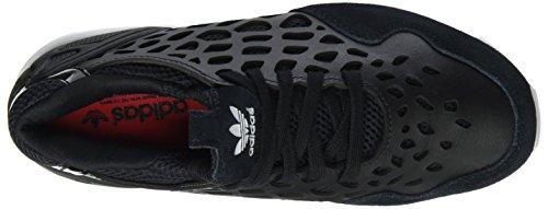 adidas ZX Flux Lace W, Scarpe da Ginnastica Donna Nero/Bianco