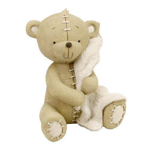 button-corner-resin-money-bank-bear-with-blanket-17cm-by-widdop-bingham