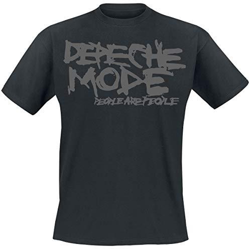 Depeche Mode People Are People Camiseta Negro M