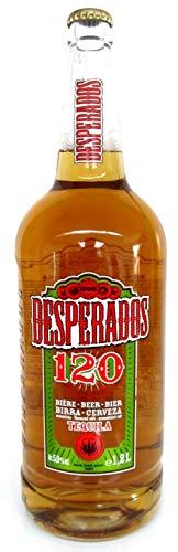 Desperados Bier mit Tequilla in der 1,2 Liter Flasche Sammlerflasche