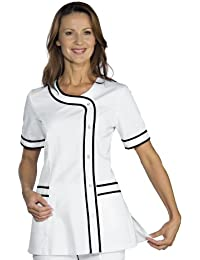 Robinson Mujer casaca con Brasilia Blanco + Negro