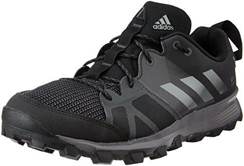 adidas Uomo Kanadia 8 Tr M scarpe da corsa, Nero (Core Black/Iron Met,/Utility Black), 42 EU