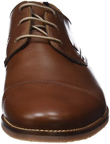 Martinelli Russell 1335-1086u, Derby Chaussures À Lacets Homme Marron (cuir)