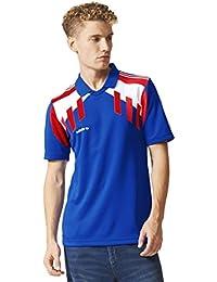 Adidas Originals Tricolour - Camiseta de Manga Corta para Hombre, Color Azul, Azul,
