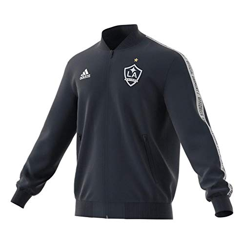 adidas Los Angeles Galaxy Anthem Jacket Official Full-Zip