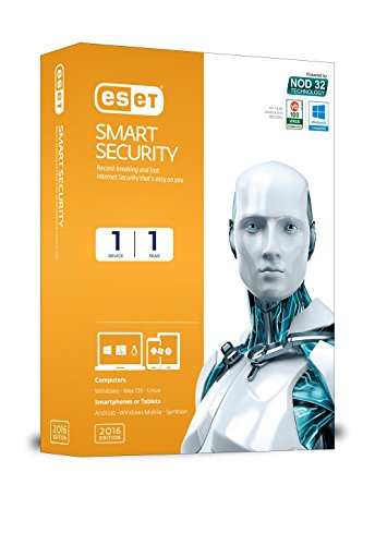 ESET Smart Security Version 9 - 1 PC, 1 Year (CD)