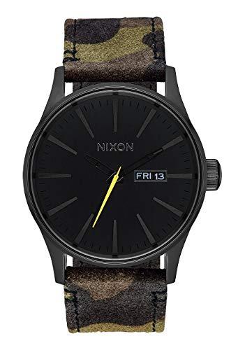 Nixon Unisex Adult Analogue Quartz Watch with Leather Strap A105-3054-00