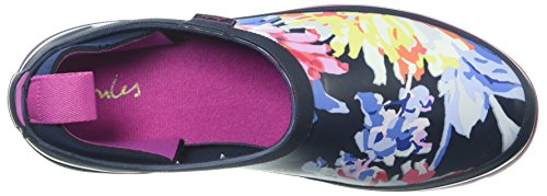 Tom Joule Damen Y_popons Gummistiefel Blau (Navy Whitstable Floral)