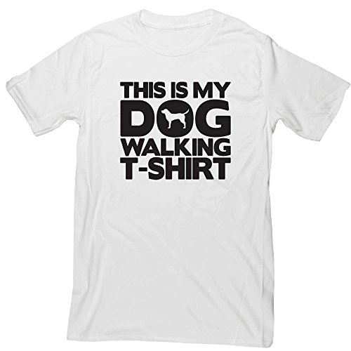 Hippowarehouse This is My Dog Walking T-Shirt Unisex Short Sleeve t-Shirt (Specific Size Guide in Description)